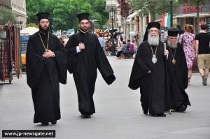 Патріарх Феофіл в Угорщині. Фото www.jp-newsgate.net