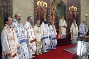 Архієреї Сербської церкви. Фото pravoslavie.by