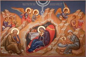 Ікона Різдва Христового. Фото orthodoxindiana.org