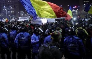 Масові протести в Румунії. Фото sputnik.md